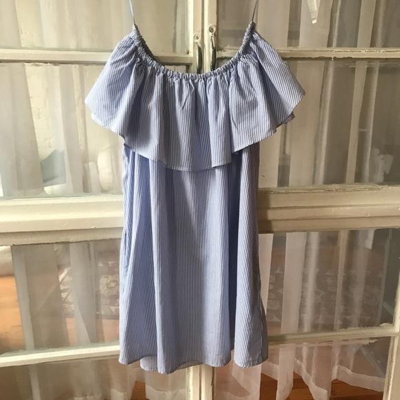 7eebf24d Zara Dresses | Off The Shoulder Summer Dress | Poshmark